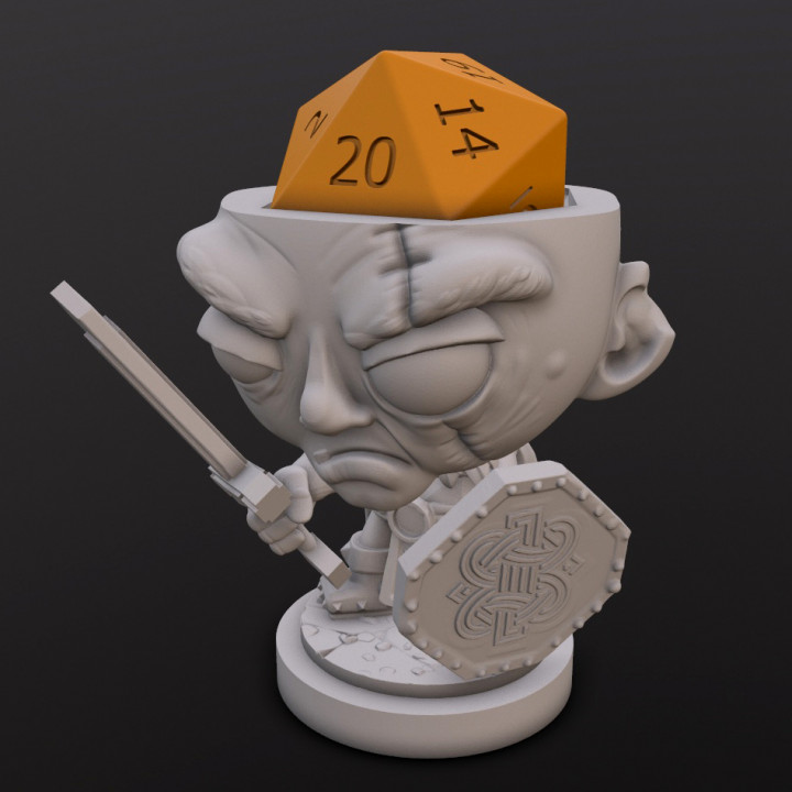 Female Dwarf (Maggie) Dice Heads's Cover