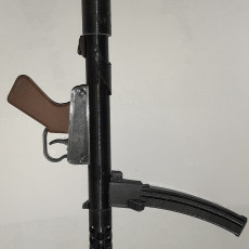 Picture of print of F1 Sub Machinegun - scale 1/4