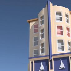 Art Deco blocks - Bondi Apartment - Shangri La