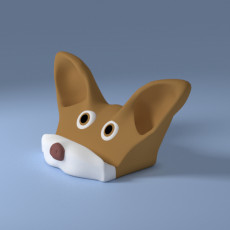 Chihuahua smartphone stand sound amplifier reflector