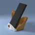 Chihuahua smartphone stand sound amplifier reflector image
