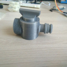 3/4 valve with quick coupler for the garden.