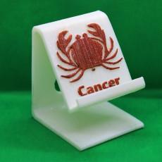 Cancer zodiac Phone stand