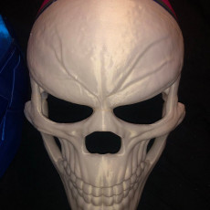 Picture of print of Ghost Rider mask -Danny Ketch - Marvel comics Halloween mask