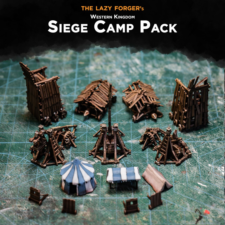 Western Kingdom - Siege Camp