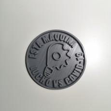 Medalla impresora 3d Covid-19