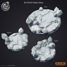 Kobold Bases (PRE-SUPPORTED)