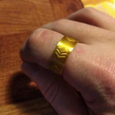 Hive Logo Ring