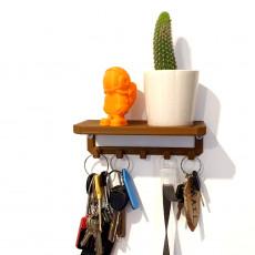 Key shelf hanger