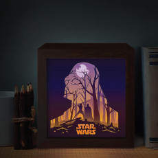 star wars lamp ligth box