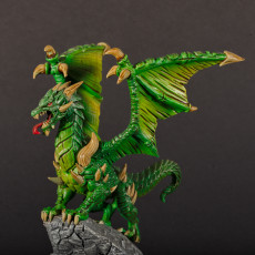 Picture of print of Kalzreg - Dragon Lord - 32mm - DnD -