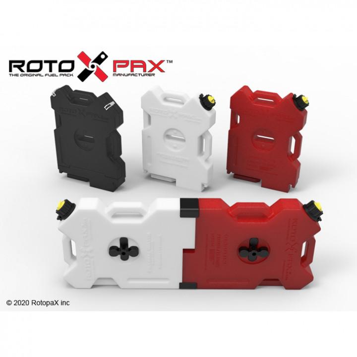 RotopaX 2 Gallon Fuel Packs High Detail