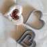 Heart shaped biscuit cutter image