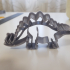 Stegosaurus shaped cookie cutter image