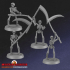 Classic Skeletons w/ Scythes x4 image
