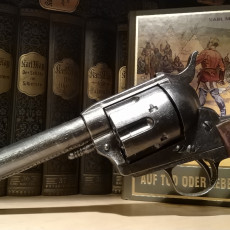 Picture of print of Cattleman Revolver - Colt Model 1873 Single Action Army Revolver