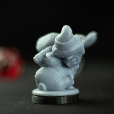 Picture of print of Pug Companion Miniature