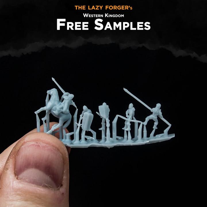 Western Kingdom - Troops Free Sample