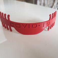 Mask comfort strap COVID-19