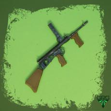 Owen MK1 Machine Gun - scale 1/4