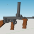 Owen MK1 Machine Gun - scale 1/4 image