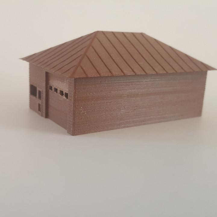 N-Scale Garage
