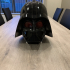 """Display Stand for """"Wearable Darth Vader Helmet (for Prusa i3 sized printers)"""" image"""