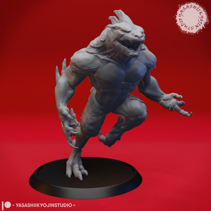 Troglodyte - Tabletop Miniature