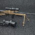 BOR Alex 7,62mm Sniper Rifle inkl. Zeiss NSV60 - scale 1/4 image