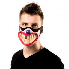 Cartoon Smile Facemask