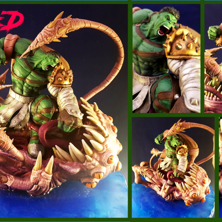 Wicked: The Hulk from Planet Hulk *FREE*