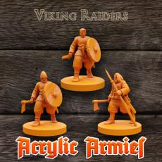 Viking Raiders x3