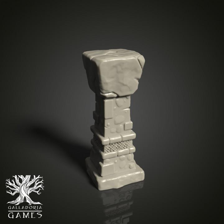 Burial Chamber Pillar
