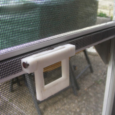 fly screen doorknop  for inside and outside