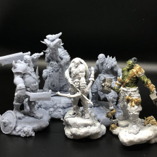 Picture of print of ORC HORDE set
