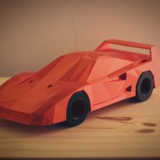Low Poly Ferrari F40