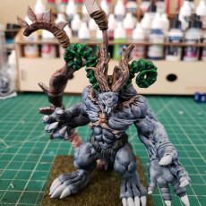 Picture of print of Warlord of the Flesh Forgers