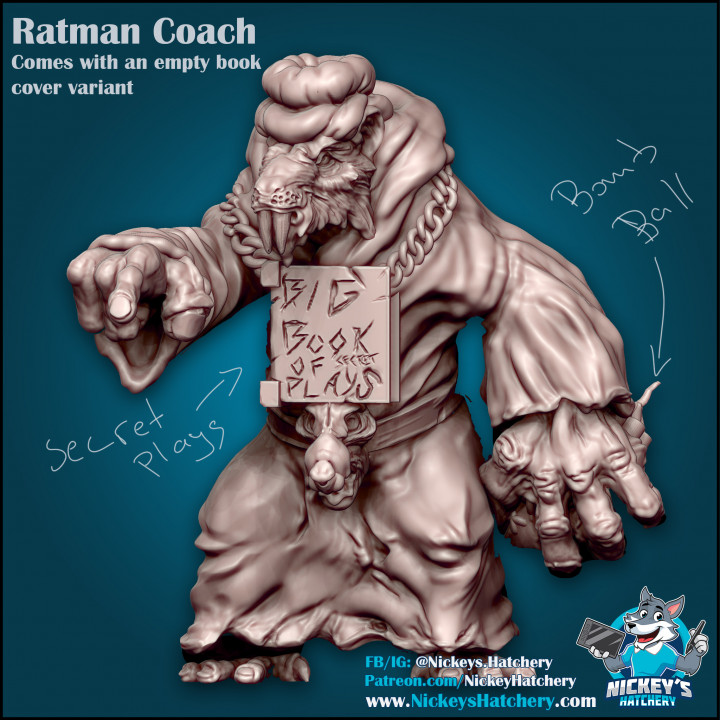 Coach Fuzzybutt's Cover