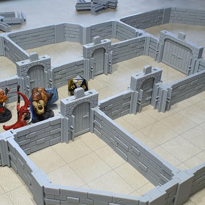 High Wall Base Set