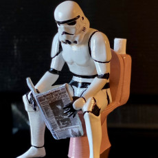 Picture of print of Pooper Trooper