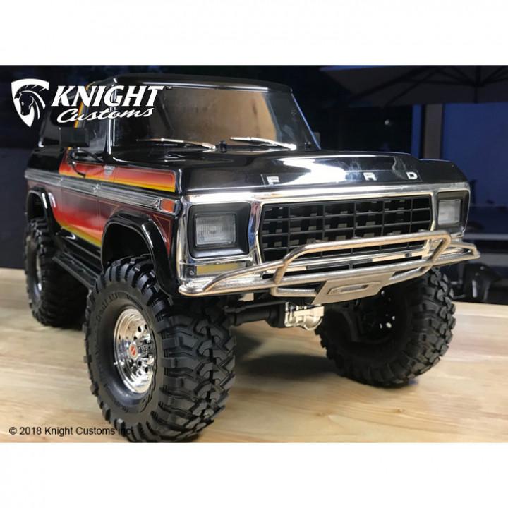 TRX4 Bronco Bumper set
