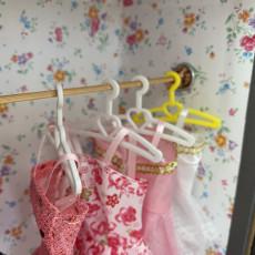 Barbie Coat Hanger