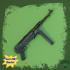 MP40 - German Machine Gun - scale 1/4 image