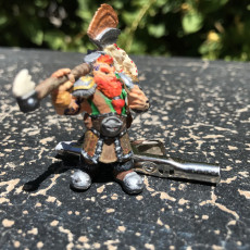 Picture of print of Dwarf Warrior