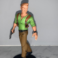 Picture of print of Nathan Drake - Disney Infinity Style