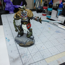 Picture of print of Leon Johnson (75mm Scale)