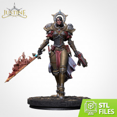 Justine (75mm Scale)