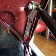 Bonnet shock absorber (Stencil)