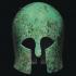 Bronze Corinthian Helmet image