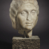 Portrait Head of a Woman, Possibly Julia Soemias image